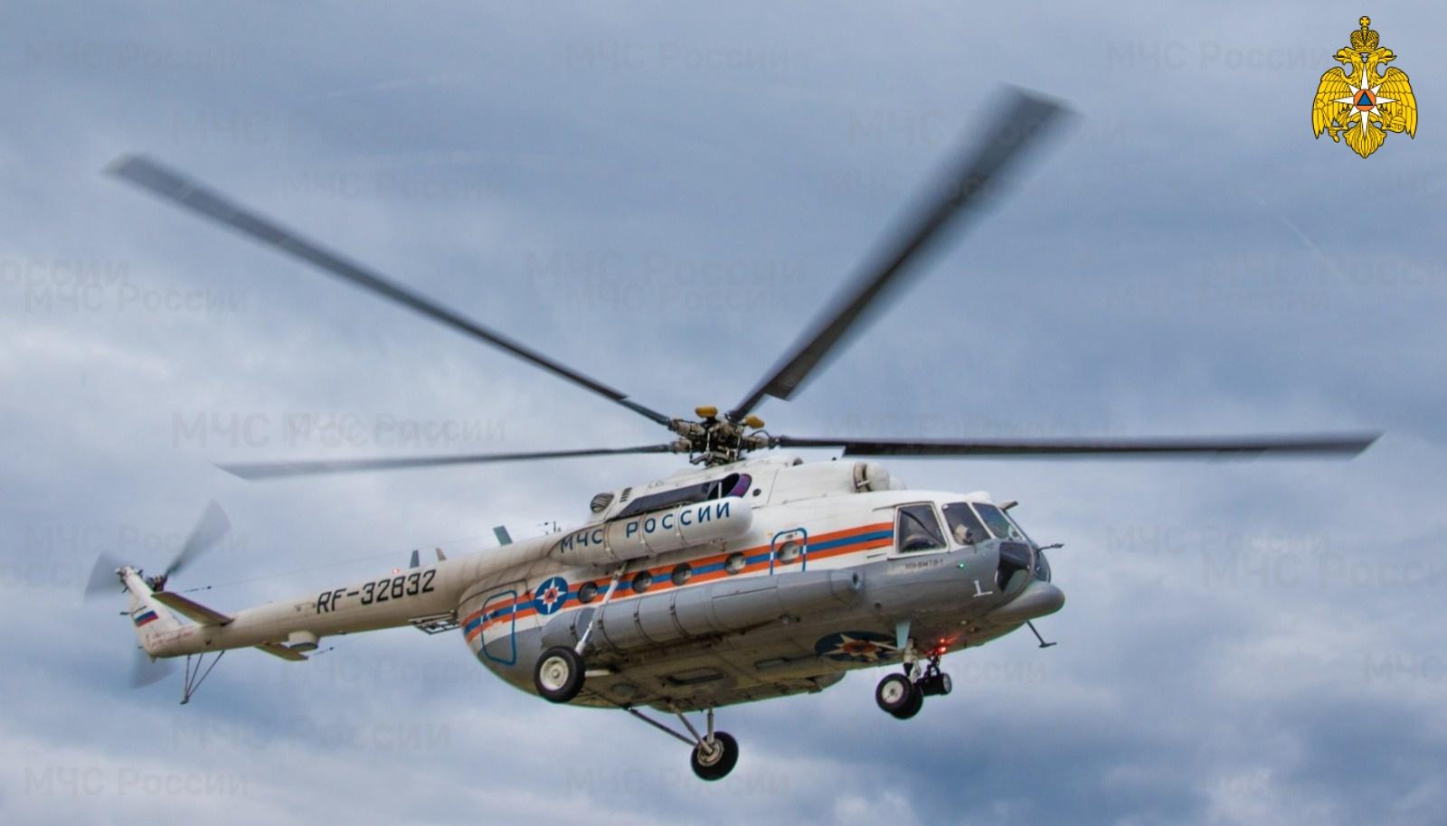 Вертолёт санавиации доставил пациента из Кимрского района в Тверь
