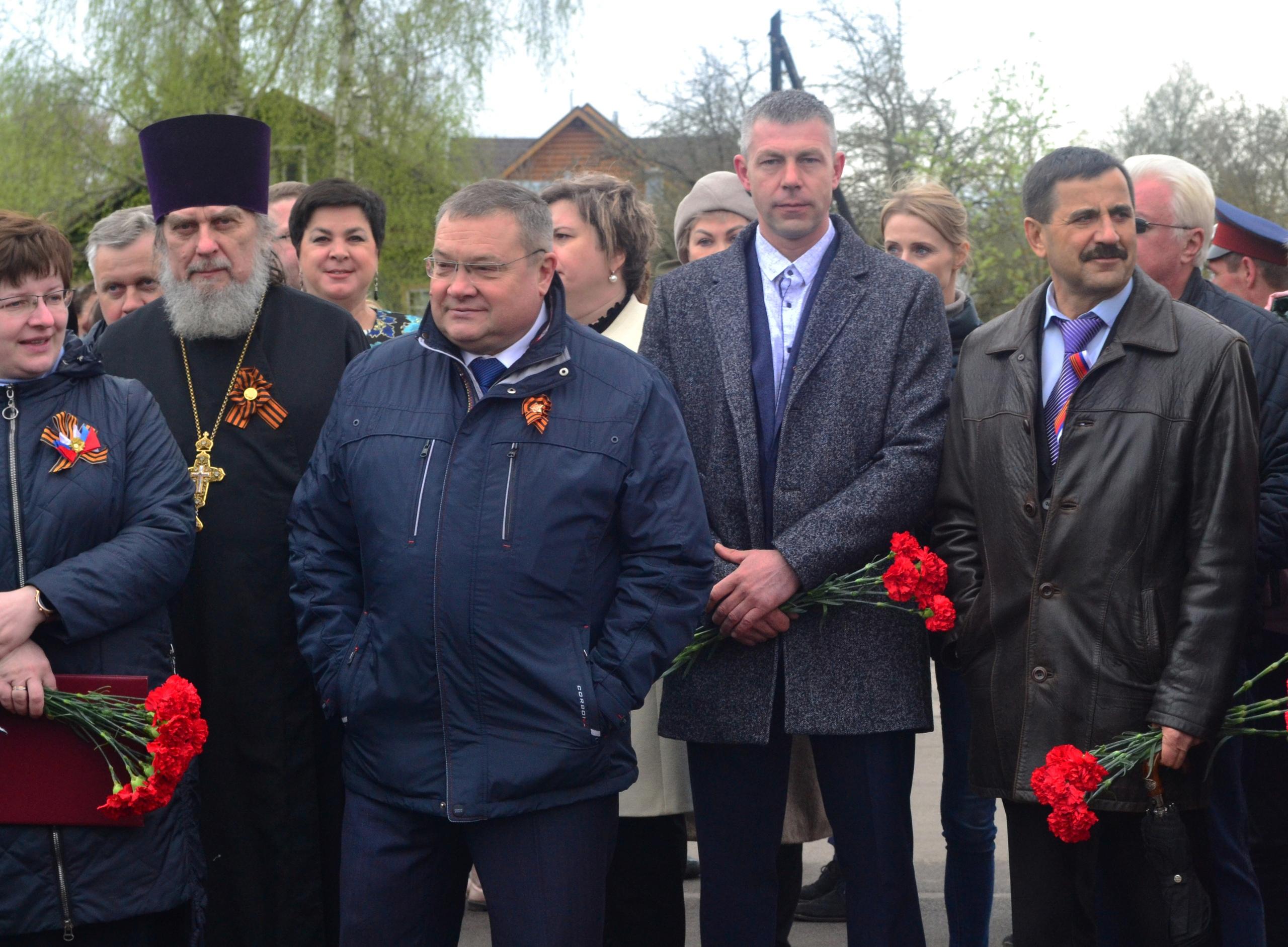 В честь Дня Победы в городе Конаково прошел торжественный митинг