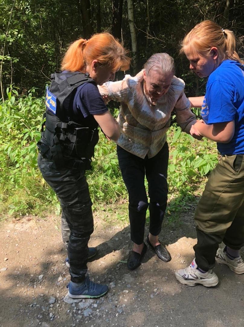 В Тверской области волонтеры помогли пропавшей пенсионерке вернуться домой
