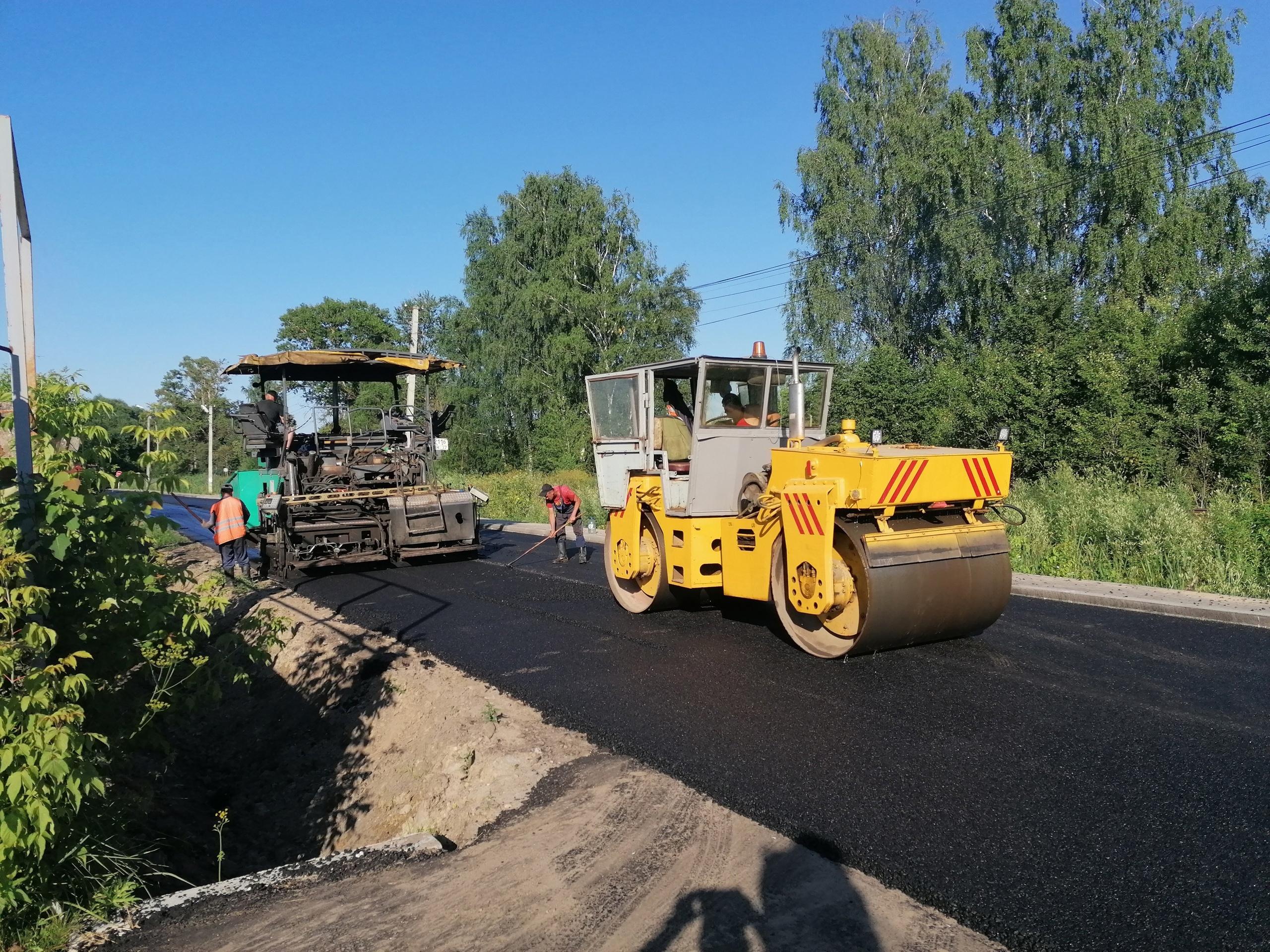 В Конаковском районе по госпрограмме ремонтируют 15 объектов улично-дорожной сети